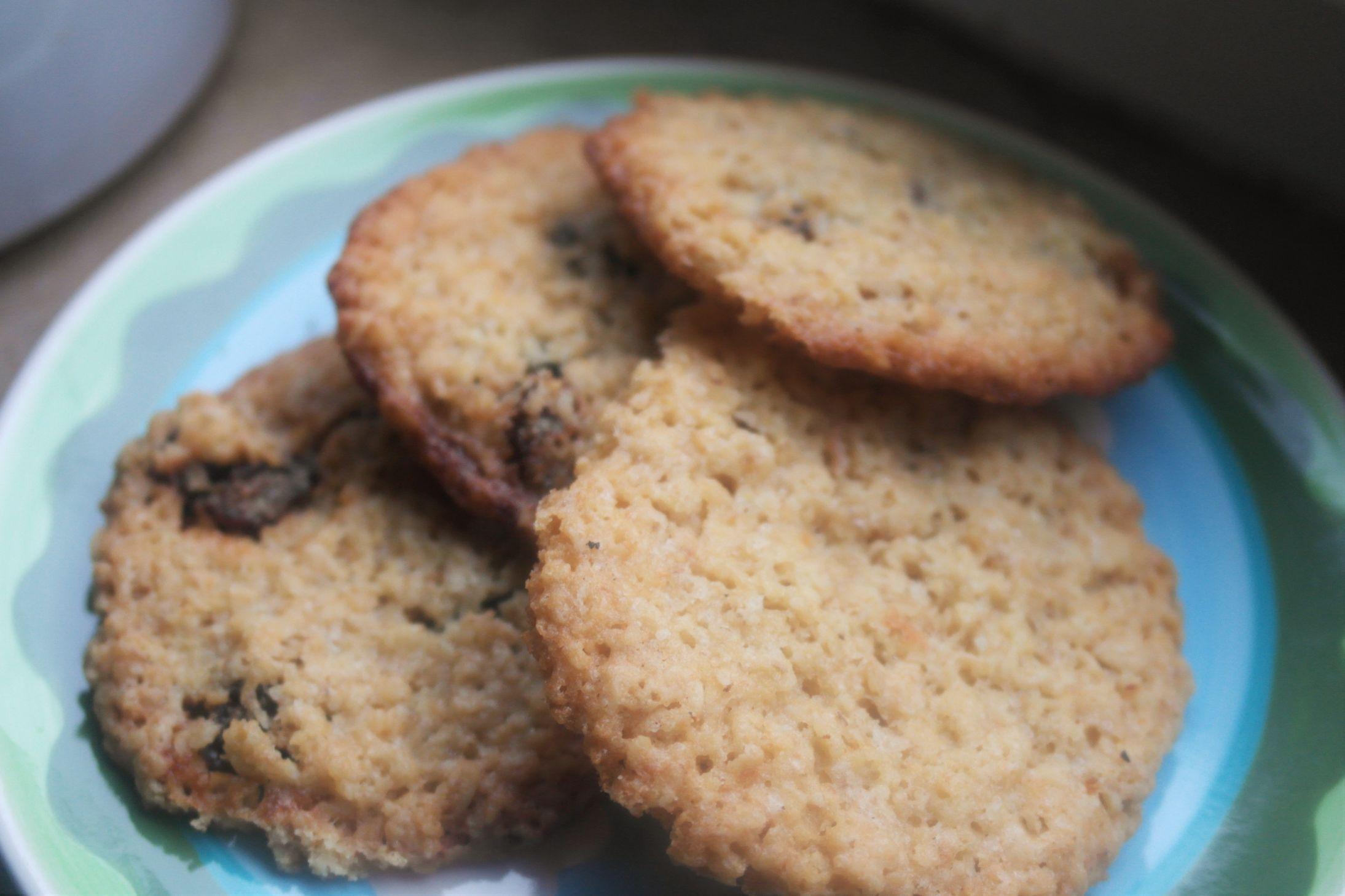 Rezept für knusprige Haferkekse, schnell und gut - by FoodLoaf