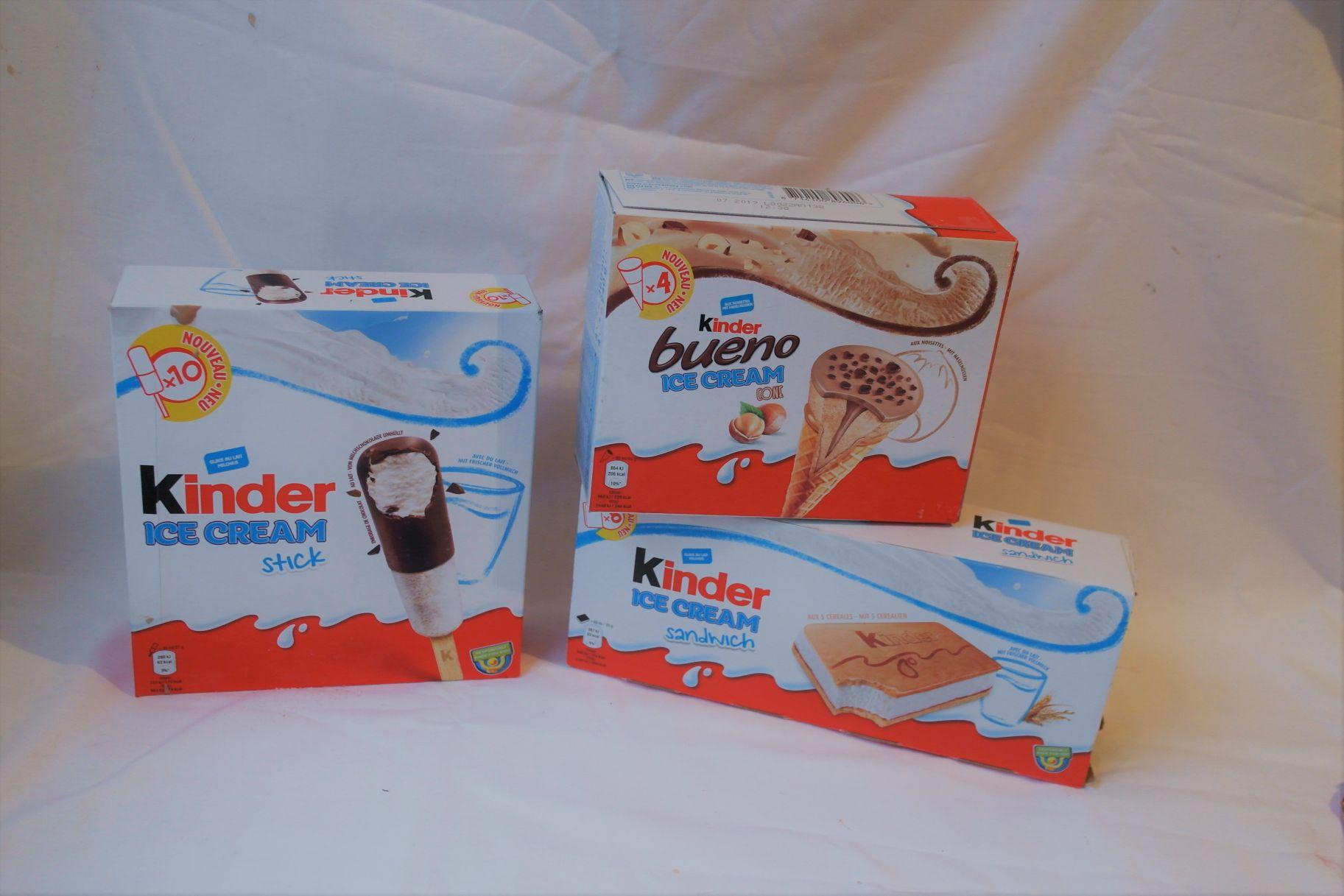 Kinder Eis Sandwich Stieleis Bueno Hörnchen Der Test Foodloaf