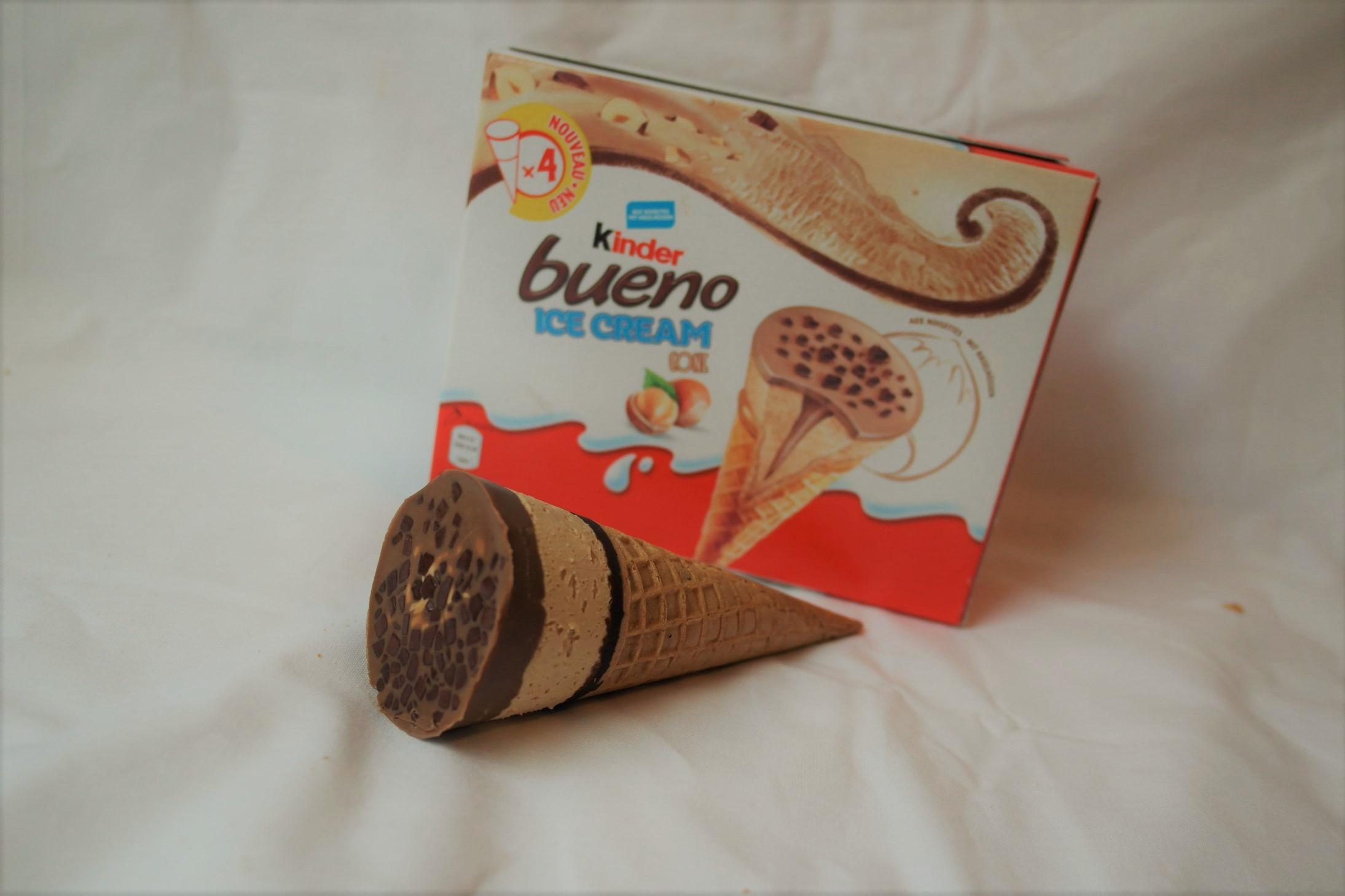KINDER Eis! Sandwich, Stieleis, Bueno-Hörnchen! Der Test