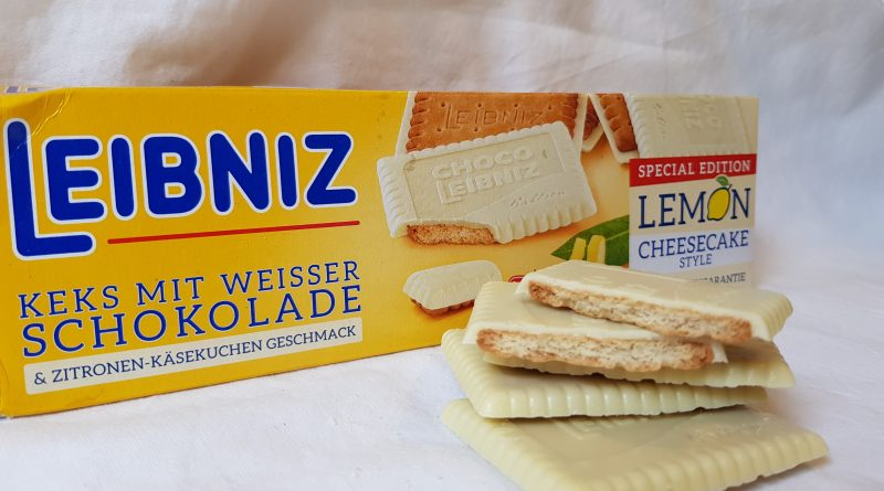 Süßkram-Test: Bahlsen Leibniz Butterkeks Lemon Cheesecake