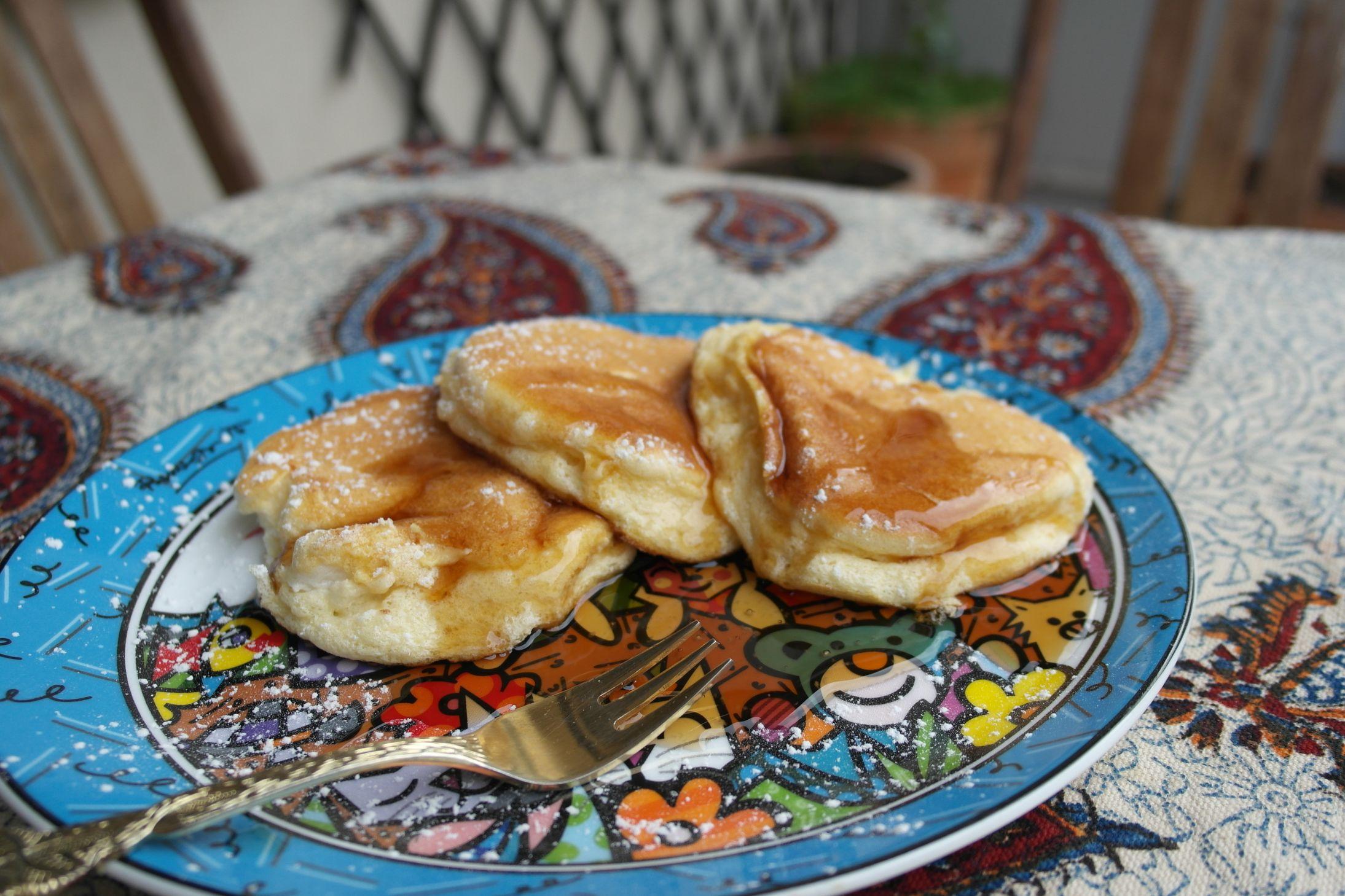 Rezept: Japanische Pancakes - super fluffy! - FoodLoaf