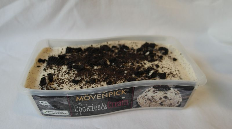 Eistest: Mövenpick Cookies & Cream